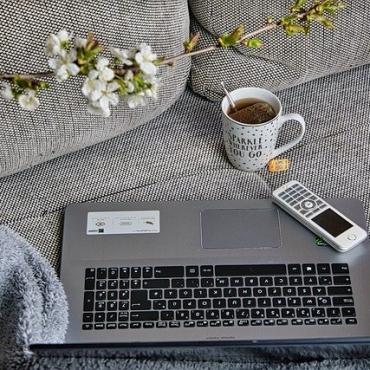 delo od doma kava